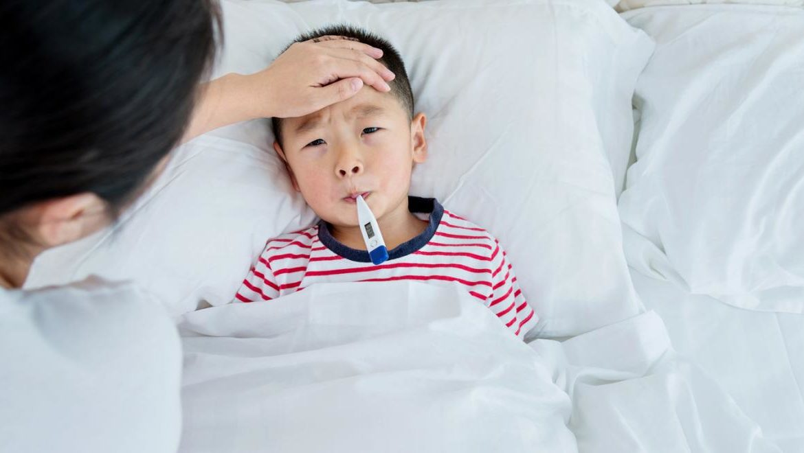 Is Your Child Sick? 5 Ways to Keep Them Comfy